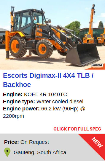Escorts Digimax-ll 4x4 TLB / Backhoe