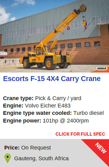 Escorts F-15 4x4 Carry Crane