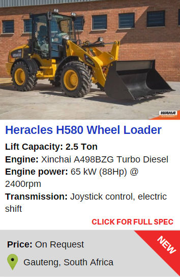 Heracles H580 Loader