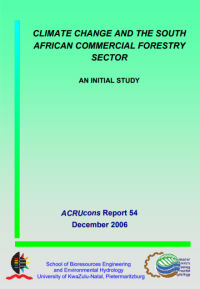 Climate Change and the South African Commercial Forestry Sector