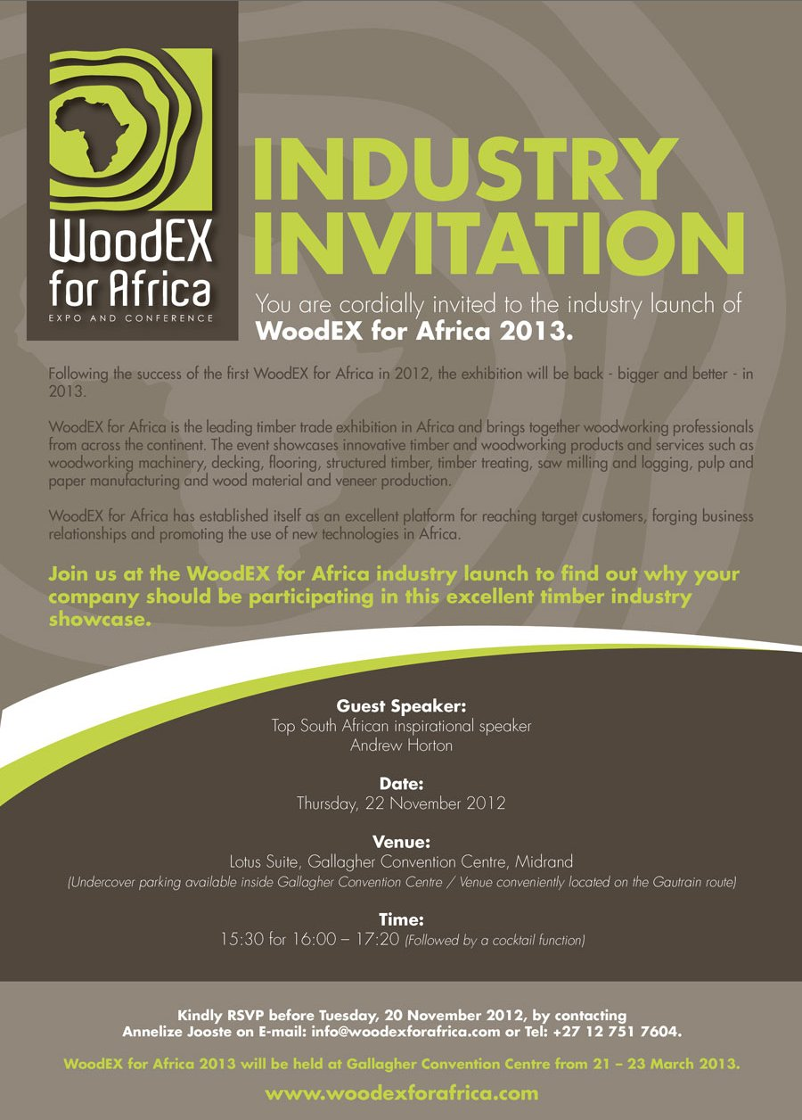 WoodEX - Industry Launch