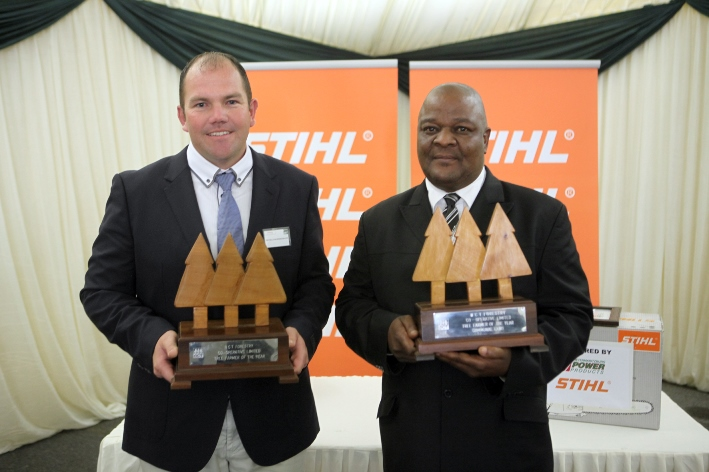 Neville Schefermann & Alfred Khoza – NCT's 2014 Tree Farmers of the year