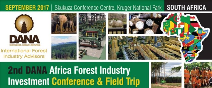 "The ""A to Z"" of African forest sector players will be at the DANA conference at Kruger in September"