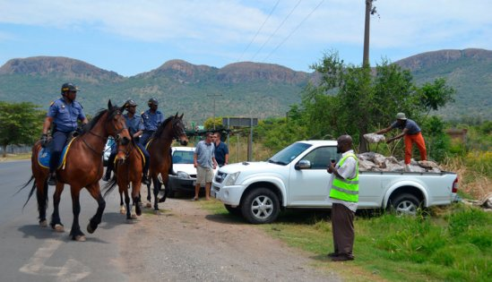 Police and Forestry clamped down on illegal wood choppers