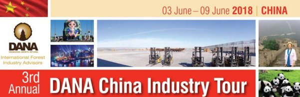 June 2018 DANA China Wood Industry Tour - Only a Few Seats Left. Register Now!
