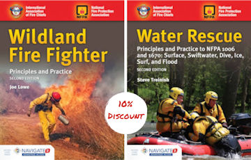 Wildland Fire Fighter and Water Rescue book discount