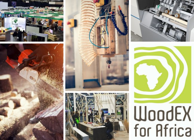 Global wood machining brands on show at WoodEX for Africa