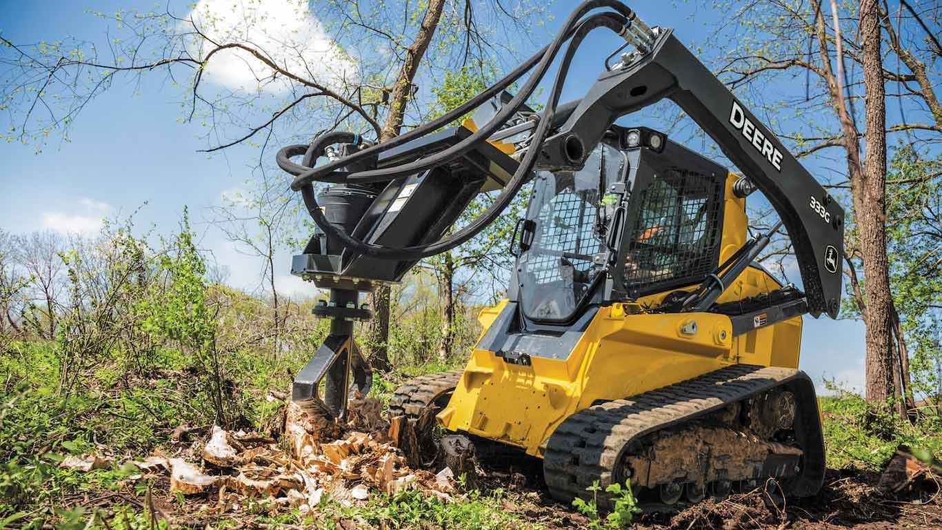 John Deere Adds Stump Shredder to Worksite Pro™ Attachments Lineup