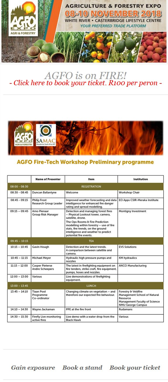 AGFO is on Fire!
