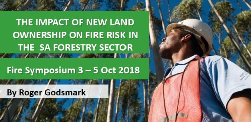 The impact of new land ownership on fire risk in the SA Forestry sector