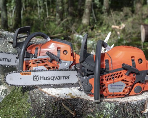 New generation 50cc chainsaws from Husqvarna set a new standard for cutting capacity