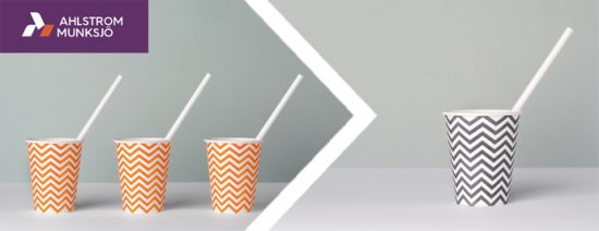 Ahlstrom-Munksjö launches a new fiber-based solution for paper straws