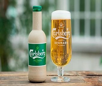 Carlsberg closer to its paper bottles