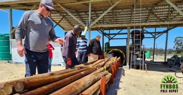 Meet family business Fynbos Poles - environmental entrepreneurs commited to quality