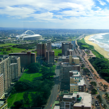 Durban is world's greenest city according to Husqvarna's new AI solution and index