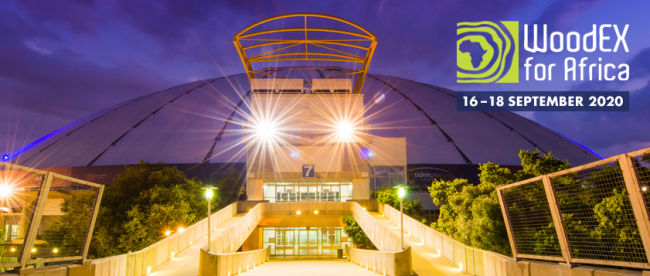 WoodEX for Africa 2020 - new date and venue