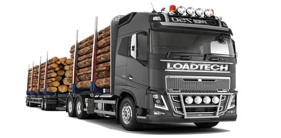 Loadtech's computerised on-board weighing system an essential tool for timber transporters