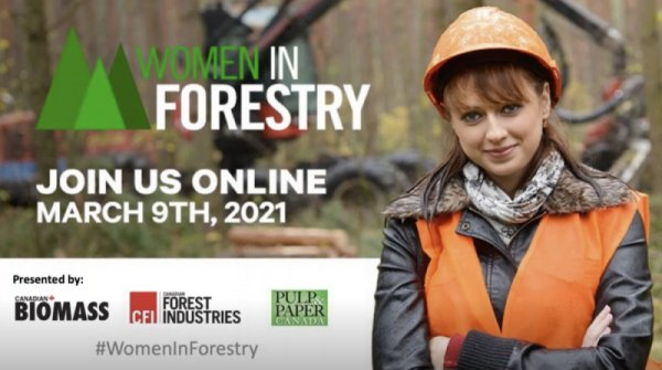 Woman in Forestry