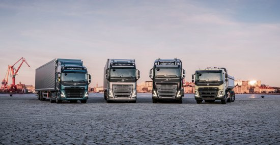 Volvo Trucks launches four new ranges