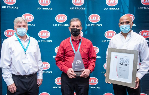 UD Truck Dealers of the Year