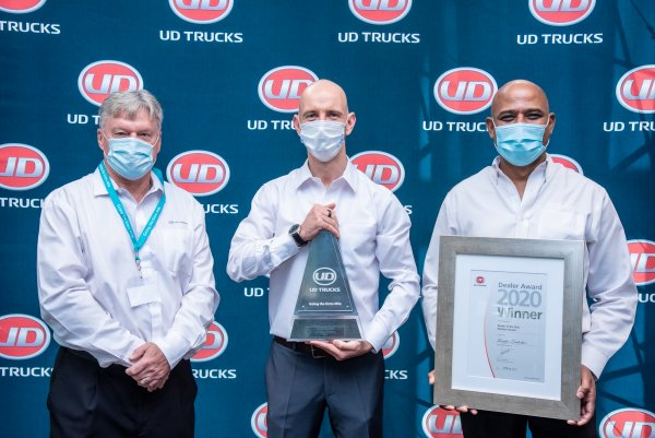 UD Trucks Dealers of the Year