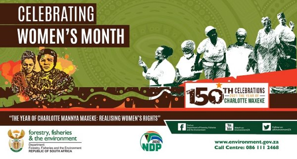 Deputy Minister of forestry fisheries and the environment kick starts the national arbor month campaign in Kwazulu Natal