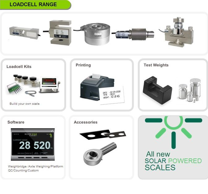 Loadcell Range