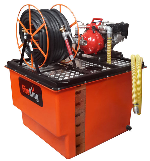 Safequip Twin Impeller Skid Unit