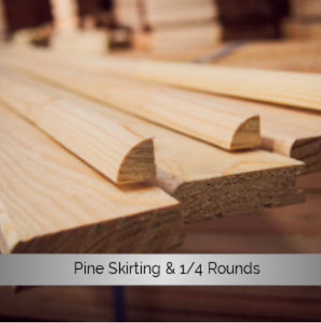 Pine Skirting & Quarter Rounds