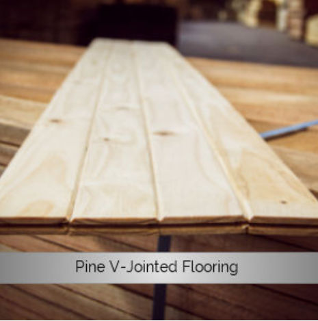 Pine V-Jointed Flooring