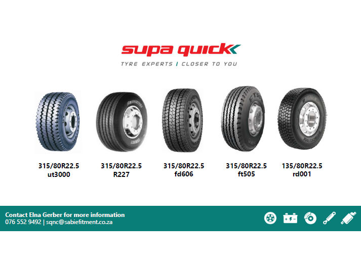 Supa Quick - Tyres