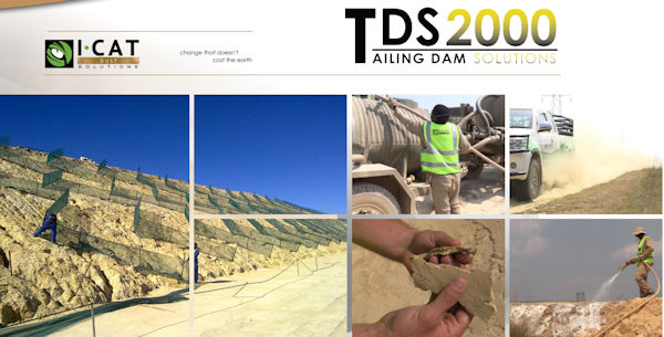 I-CAT Dust Solutions - TDS2000 Tailing Dam Solutions