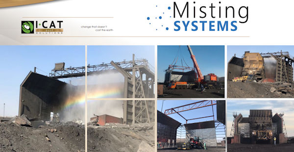 I-CAT Dust Solutions - Specialised dust suppression systems