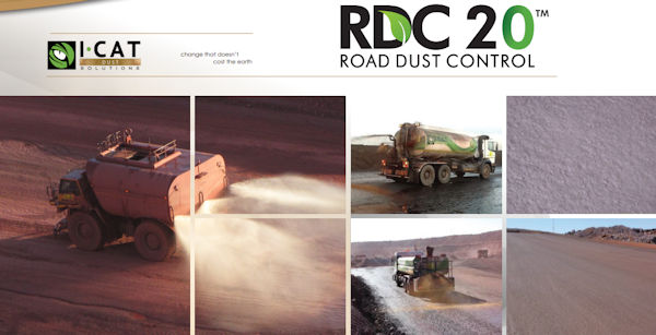 I-CAT Dust Solutions - Road dust suppression