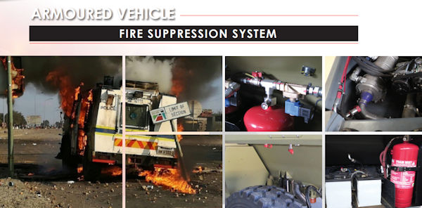 Fire Suppression - Vehicle suppression system