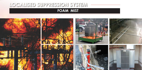 Fire Suppression - Localised suppression system